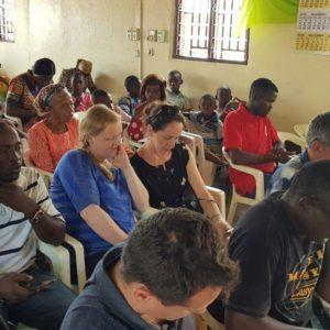 Church service, Douala 2019
